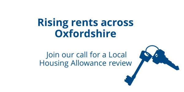 Rising Rents across Oxfordshire - review Local Housing Allowance